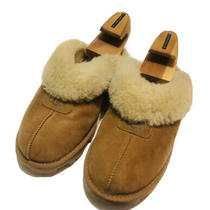 Ugg Boots Australia Coquette Slippers Women's Slip on 5125 Suede Brown Sz 9 Photo