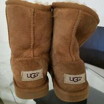 Ugg Boots Girls Size 1  Brown  Photo