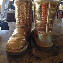 Ugg Boots Gold Sequin Photo