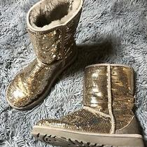 Ugg Boots in Champagne / Gold Sequins Photo