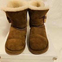 Ugg Boots Kids Size 2 Classic Short Chestnut Photo