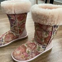 Ugg Boots Romantic Floral Pink/blush Roses Limited Edition Size 8 Photo