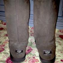 Ugg Boots Size 9 Brown Used Photo