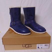 Ugg Boots - W Blaise Crystal - Color - Ibt - Dark Blue - Nwb - Msrp  330 Photo