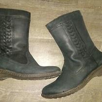 Ugg Boots Women's Size 10 Black  Photo