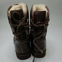 Ugg Brown Leather Mariana Short Boots  Us 9 (1008426) Photo