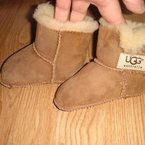 Ugg Brown Suede Bootstoddler sz.sm. Excellent Used Condition Photo