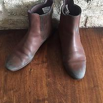 Ugg Brown Wedge Bootie Shoe Size 9.5 Photo