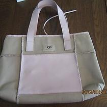 Ugg Canvas and Leather Purse Photo