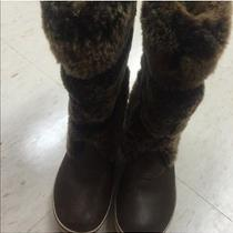 Ugg Chocolate Brown Snow Boot Photo