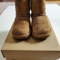 Ugg Classic Ii Boots Chestnut Kids Size 7 Euc  Photo