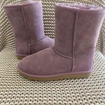 Ugg Classic Short Ii Shadow Water Resistant Suede Sheepskin Womens 7 & 10 Photo