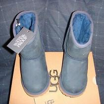 Ugg Classic Short Ii Waterproof  Kids Boots  Navy  11.0us  Nib Photo