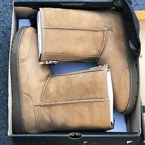 Ugg Classic Short Phillip Lim 3.1 Chestnut Suede Fur Zip Boots Size 13 Mens Gift Photo