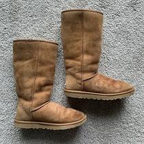 Ugg Classic Tall Boots Chestnut Womens Size 8  Photo