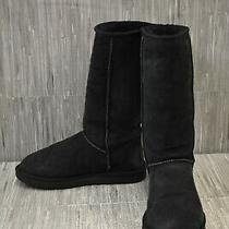 Ugg Classic Tall Ii 1016224 Boots Women's Size 8 Black Photo