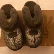 Ugg Coquette 1003833 Women Slipper Shoes Grey Size 10 / 41 Nib Photo