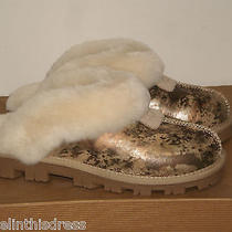 Ugg Coquette Marble Novelty Brown Multi Womens Slippers 5us Fits 6us Women Nib Photo