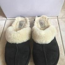 Ugg Coquette Womens Slippers Black Size 7 Photo