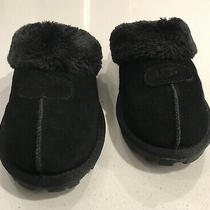 Ugg Coquette Womens Slippers Black Us Size 8m Photo