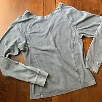 Ugg Cotton Sweater With v Back Womens Size Medium Photo