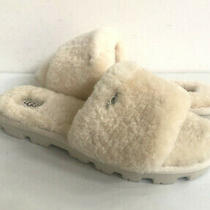 Ugg Cozette Natural Shearling Mocassin Slippers Us 10 / Eu 41 / Uk 8 Photo