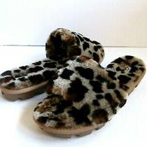 Ugg Cozette Women Slide Leopard Us 6 /uk 4 /eu 37 /jp 23 Photo