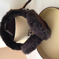 Ugg Dark Brown Ear Muffs - Authentic - Comes With the Original Tags and Case Photo