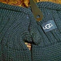 Ugg Designer  Black Gloves        O/s Photo