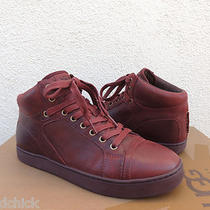 Ugg Edgebrook Cordovan Leather Chukka Sneaker Shoes Us 9/ Eur 42/ Uk 8 New Photo