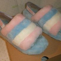 Ugg Fluff Yeah Multi Color Pride Slipper Sandals Adult Size Womens 9 New 2020 Photo