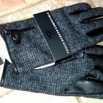 Ugg Gloves for Men Touch Screen Compatible P/n 8507102 Wool and Leather Sz L Nwt Photo