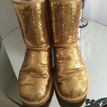 Ugg Gold Sequin Boot  Photo