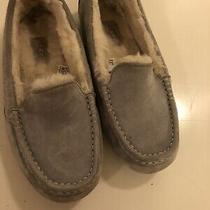 Ugg Gray Moccasin Slippers 8 Womens Photo