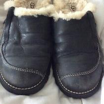 Ugg Hampton Sheepskin Leather Clogs Mules Slip on Slipper Womens Sz 6 Photo