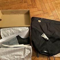 Ugg Himari Womens Sneaker Black Us Size 8.5 New in Box & Free Gift Photo