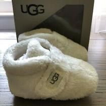 Ugg Infant Bixbee Bootie Slipper Size 02/03 6-12 Months Vanilla Photo