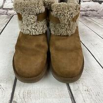 Ugg Jocelin Womens Size 8 Brown Sheepskin Ankle Boots Photo