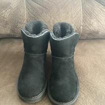 Ugg Karel Women's Black Shearling Boots Size 8 Photo