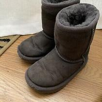 Ugg Kids Boots Size 8 Gray Photo