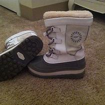Ugg Kids Snow Boots Size 1 Euc Photo