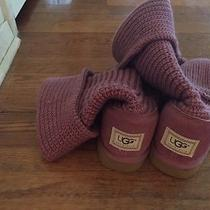Ugg Knitted Boots Photo