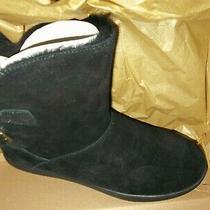 Ugg Koolaburra  Black  Buckle Classic  Sheepskin Boots Womens  Us 8 Nib Photo