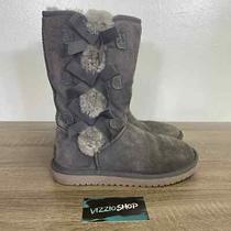 Ugg - Koolaburra Victoria Tall Grey Boots - Women's 6 - 1015875 Photo