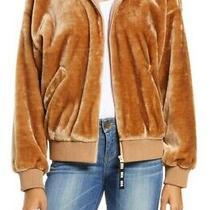 Ugg Laken Faux Fur Jacket Camel Size Xs (Msrp 128) Photo