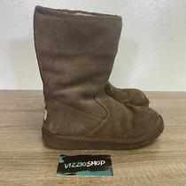 Ugg - Lil Sunshine Dark Brown Boot - Youth 3 - 5948 Photo