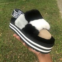 Ugg Limited Edition Soft Disco Checker Slide Slippers Women Shoes Sandal Size 7 Photo