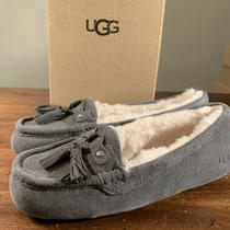 Ugg Litney 1116030 Grey Size 8 Womans Slippers Brand New/ Authentic Photo