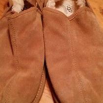 Ugg Man Slipper 11 M Brown Suede  Photo