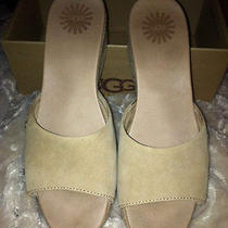 Ugg Mandalay Beige Sandal/slip Photo